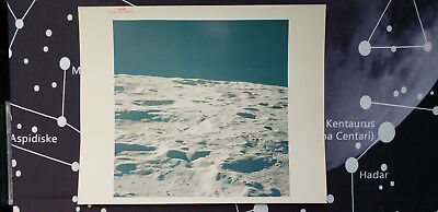 AS16-118-18926 Apollo 16 Orig VTG Photo Red# Lunarscape From Orbit