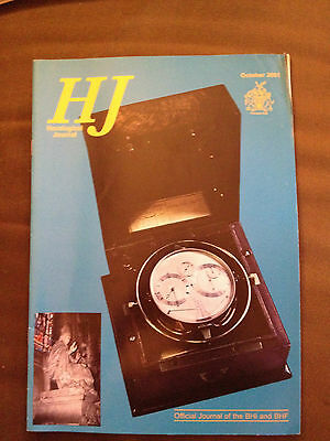 Oct 2001 Horological Journal Magazine - The World's Largest Clock