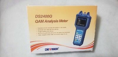 Deviser DS2400Q CATV QAM Signal Meter 5 ~ 1000 MHz  NEW IN BOX