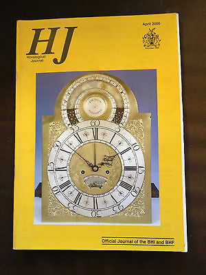 Apr 2000 Horological Journal Magazine - Deadbeat Escapement