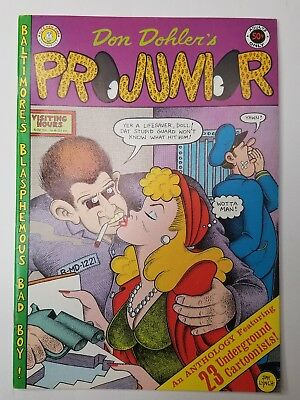 Pro Junior  (1971 Kitchen Sink), by Jay Lynch 1st Printing Underground Comic Lot