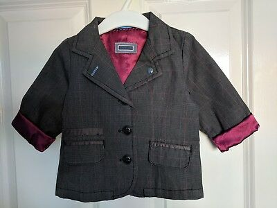 Mamas and Papas Boys Dress Jacket 9-12 - Excellent  Condition