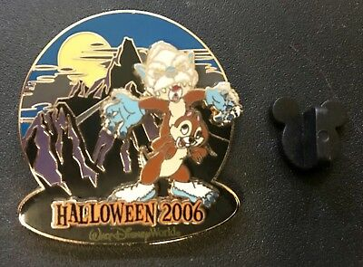 *~*disney Wdw Expedition Everest Yeti Haunted Parks 2006 Chip & Dale Le Pin*~*