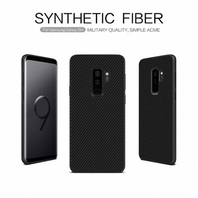 Nillkin Synthetic Carbon Fiber Back Case Cover For Samsung Galaxy S10 Note 8 9