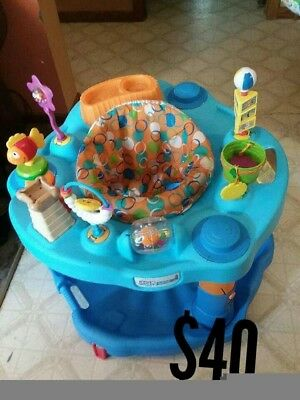 Evenflo Activity Center Exersaucer Bounce and Learn-Barely Used