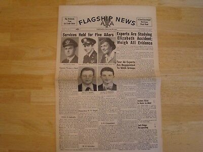 American Airlines Flagship News. Company newspaper 1952
