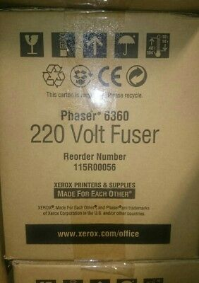Xerox 115R00056 220V Fuser Units x 3 for a Phaser 6360 Colour Laser Printer