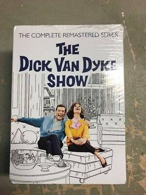 The Dick Van Dyke Show The Complete Remastered Series (DVD, 25-Disc Set) New