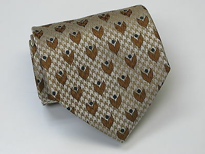 """New SILK COMPANY """"Accessory Collection"""" Made in Italy Pure Silk Tie"""
