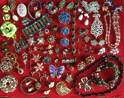 Antique/ Vintage/Victorian jewelry lot. Sterling Incl. Rare Pieces!