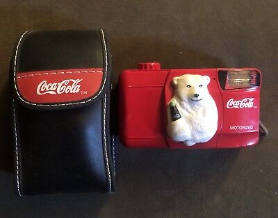 Coca Cola 35 mm Camera Coke Polar Bear. NEW