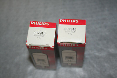 Lot of 2 CAL Projector Projection Lamp Bulb Philips 300W 120V NEW OLD STOCK