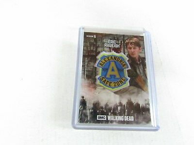 Eric Raleigh  The Walking Dead  Season 8  Manufactured Faction Patch Relic Card
