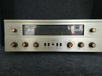 Vintage Fisher 500C Receiver In Working Condition. Looks Good Sounds Good