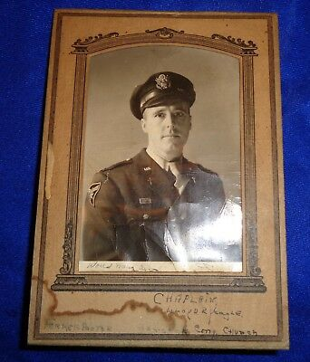WW2 Picture Photo 12th Air Force Chaplain ID'd Scarce Air Corps