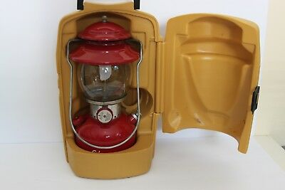 1963 COLEMAN 200-A LANTERN dated 10/63 WITH  CLAM SHELL CASE -- NO RESERVE!!