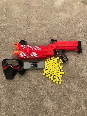 Nerf Rival Nemesis MXVII-10K, Red w/ Accessories