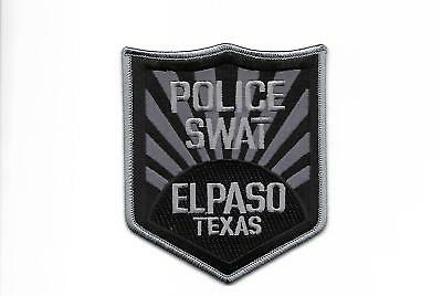 Texas - Subdued- Swat Unit - El Paso Police Department