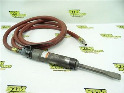 Ingersoll Rand Heavy Duty Pneumatic Air Chisel Model 182 + Hose