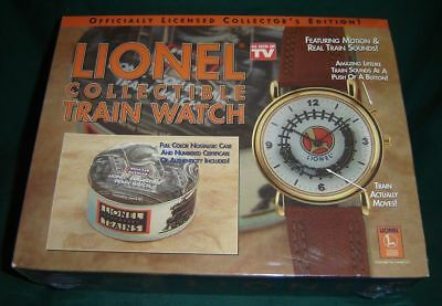 Lionel Train Watch Collector's Edition  Brand New Sealed Factory Shrink Wrapped