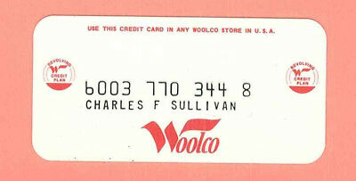 Woolco Charge Card (F.W. Woolworth)