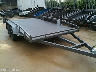 Brand New Car Trailer 14Ft Tandem Car Carrier In Stock Now