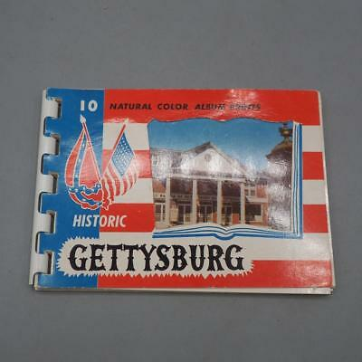 Vintage Historic Gettysburg Photographic Souvenir Book