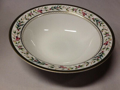 fitz and floyd winter holiday serving bowl