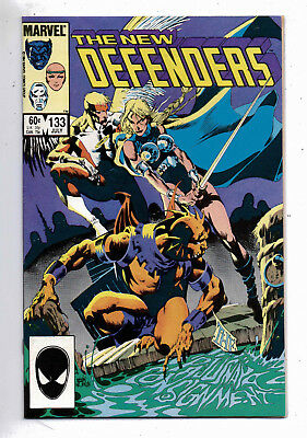 New Defenders #133(VF+) and #134(VF), Marvel, 1984