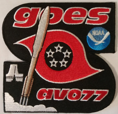 Official Atlas V Goes-S Av-077 Noaa Mission Patch