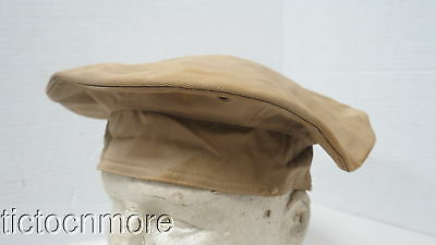 Wwii Us Army Air Force Khaki Beret Hat Size 7 1/8