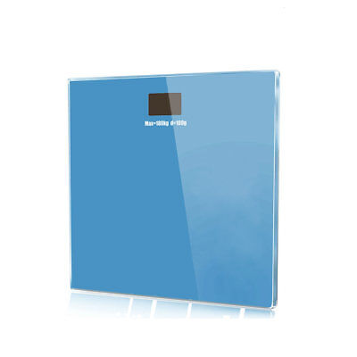 Electronic Digital Bathroom Glass Body Weight Health Fitness Scale 180kg/400lb
