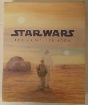 Star Wars: The Complete Saga (Blu-ray Disc, 2011, Canadian French)