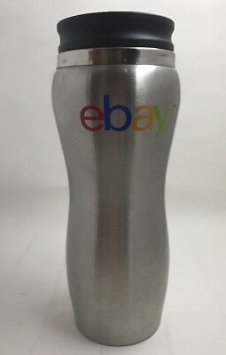eBay Travel Tumbler Stainless Steel 14 oz branded Insulated Coffee Cup