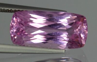 Flawless 13.10 Cts Natural Cushion Afghanistan Pink Patroke Kunzite No Reserve