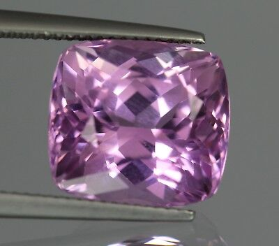 Flawless 12.40 Cts Natural Cushion Afghanistan Pink Patroke Kunzite No Reserve