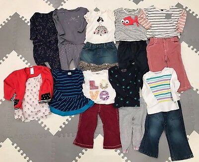 toddler girls 18-24 months lot of clothes - babyGap, Old Navy, Gymboree, Carters