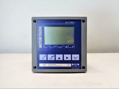 Just Removed and Fully Fuctional !! Mettler Toledo PH 2100 PH Transmitter