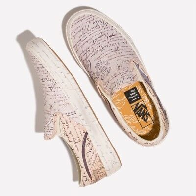 Vans x Vincent Van Gogh Museum Slip-on Letters to Theo VN0A38F7U7T