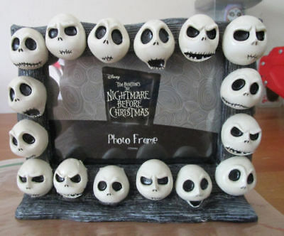 Nightmare Before Christmas The Many Faces Of Jack Photo Frame