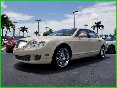 Bentley Continental Flying Spur  2011 Used Turbo 6L W12 48V Automatic AWD Moonroof