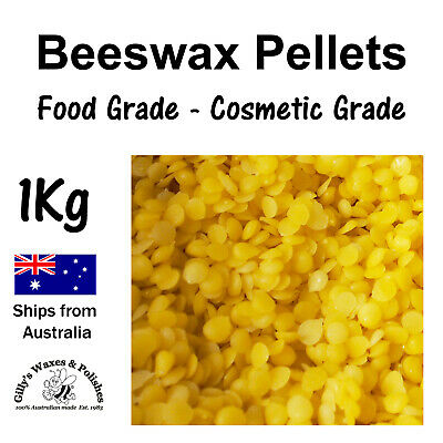 Beeswax Chunks (100% WA, Natural Foodgrade Wax) - 200g, 400g, 1kg, 2kg
