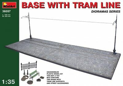 MiniArt 1/35 Base with tram line  Diorama 36057