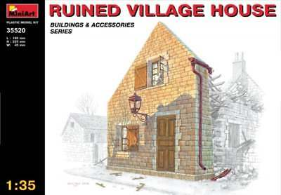 MiniArt 1/35 Ruined village house  Diorama 35520