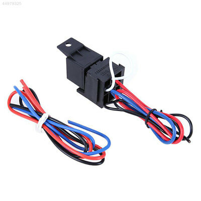 Ignition Switch Panel Rainbow LED Push Button Toggle Power Off Switch