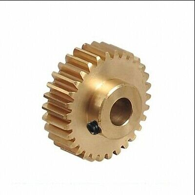 New 0.5 Modulus Brass Gear 16-120 Tooth, 3 to 8mm Hole Dia. Drive Gearbox Select