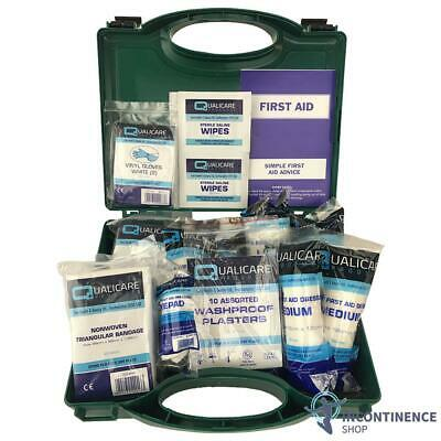 Workplace First Aid Kit- HSE Compliant- 1-10 Person- Long Expiration
