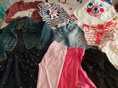 Girls clothes bundle age 3-4,blue zoo debenhams, H&M, george ,primark,mothercare