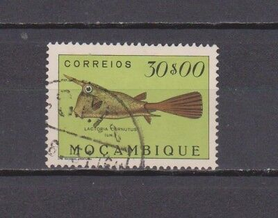Portugal- Moçambique - 1951 - Peixes/fish - 30$00 Stamp (2 Scans-Small Thin)