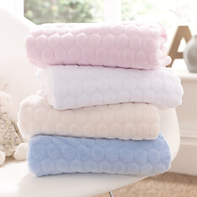 Clair de Lune Marshmallow Knitted Jersey Blanket